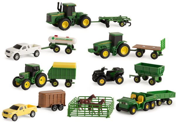 35265B - ERTL Toys John Deere Vehicle Value Mix