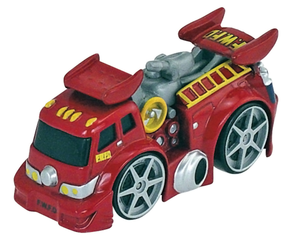 39426-CNP - ERTL Toys Red Fire Truck Collect N Play Series