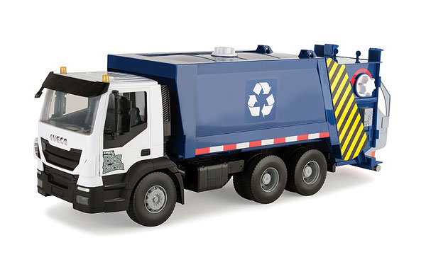 43057 - ERTL Toys IVECO Recycling Truck Lights and sounds Big