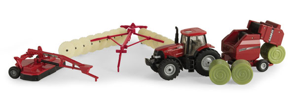 44078 - ERTL Toys Case IH Haying Playset Playset