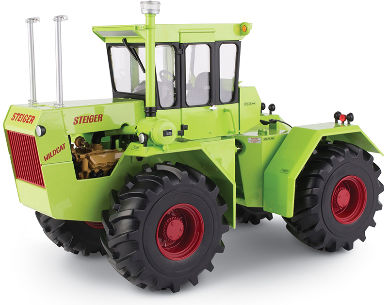 44099 - ERTL Toys Steiger Wildcat Articulating Tractor 50th Anniversary Collector