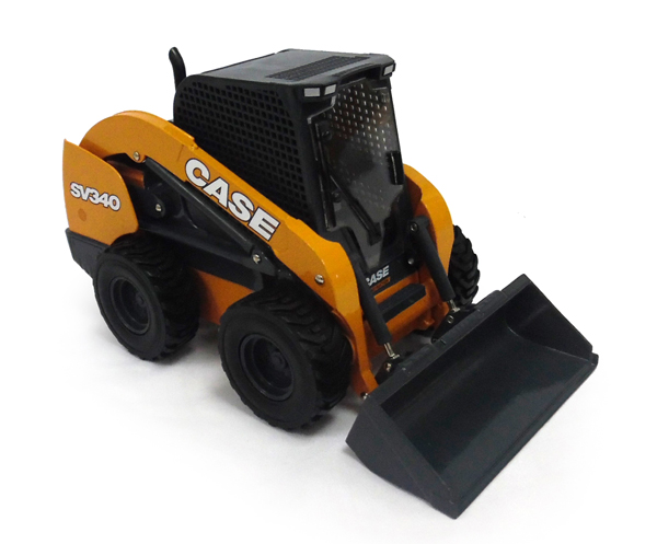 44121 - ERTL Toys Case SV340 Skid Steer Loader