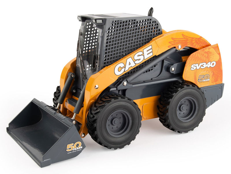 44198 - ERTL Toys Case SV340 Skid Steer 50th Anniversary Edition