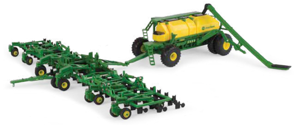 45555 - ERTL Toys John Deere Air Seeder Playset