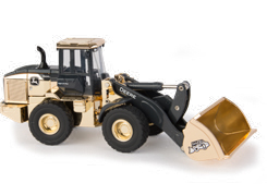 45639A - ERTL Toys John Deere 544L Wheel Loader LP70555 50th