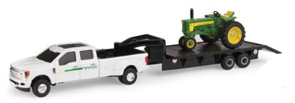 45651 - ERTL Toys John Deere 530 Tractor and Ford F350