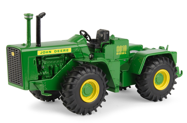 45664A - ERTL Toys John Deere 8010 Tractor LP69413 Special National