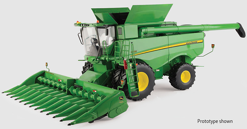 45680 - ERTL Toys John Deere S780 Combine Prestige Collection LP70536