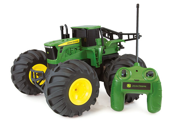 46155 - ERTL Toys John Deere Monster Treads Remote Control Tractor