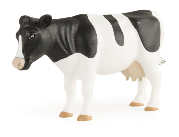 46519-CNP - ERTL Toys Holtein Cow Big Farm Series Made of