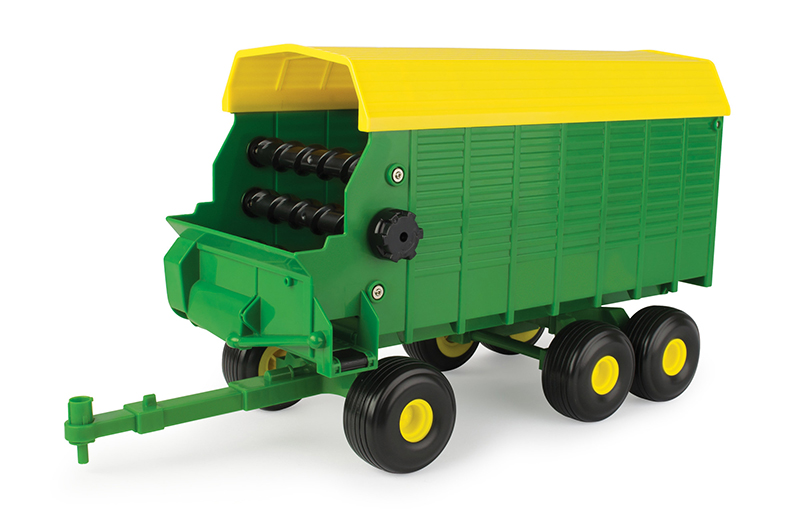 46637 - ERTL Toys John Deere Forage Wagon Big Farm Series