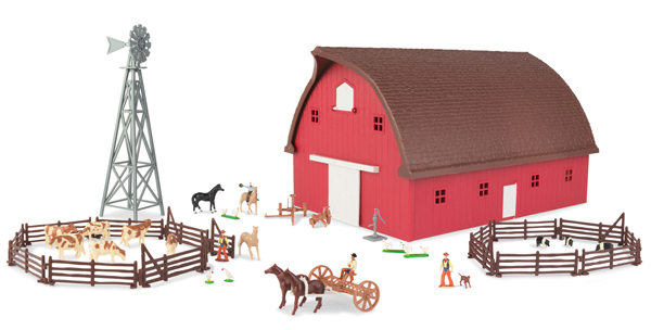 46765 - ERTL Toys Gable Barn Playset