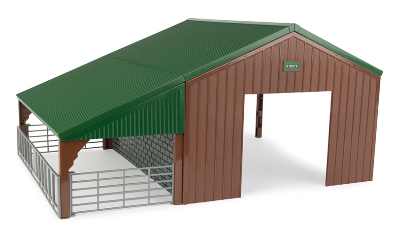 46961 - ERTL Toys Livestock and Vehicle Barn