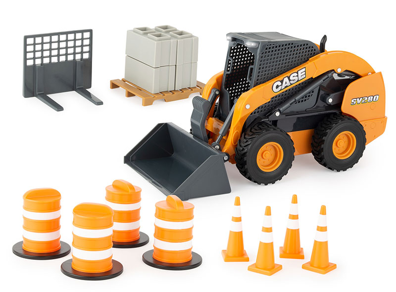 47350 - ERTL Toys Case IH Skid Steer Big Farm Series