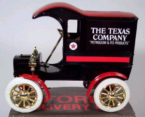 9321 - ERTL Toys Texaco 4 1905 Ford Delivery Car Produced
