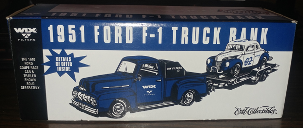 F250 - ERTL Toys Wix Filters 1951 Ford