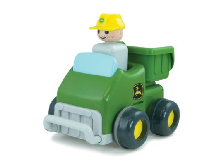 T16001 - ERTL Toys John Deere Push and Go Truck