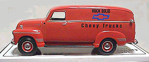 10-1329 - First Gear Replicas Chevy Trucks Rock Solid 1949 Chevy Panel