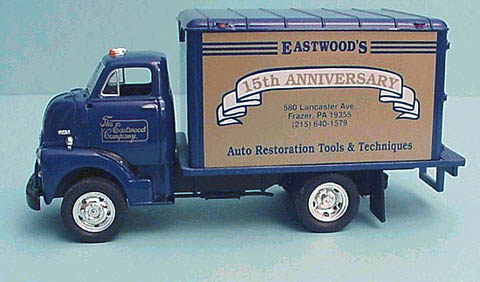 19-0115 - First Gear Replicas Eastwood 15th Anniversary 1952 GMC 352 Van