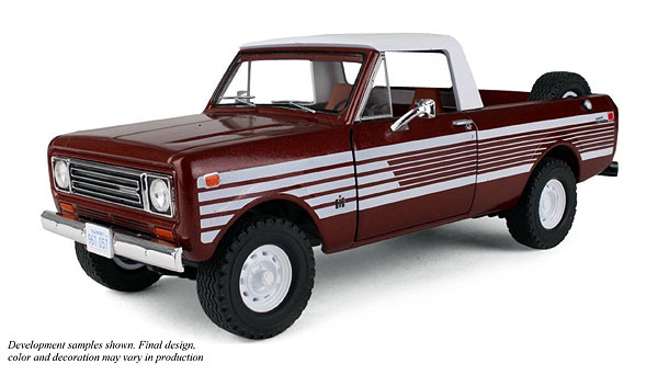 40-0363 - First Gear Replicas 1979 International Scout Terra Pickup