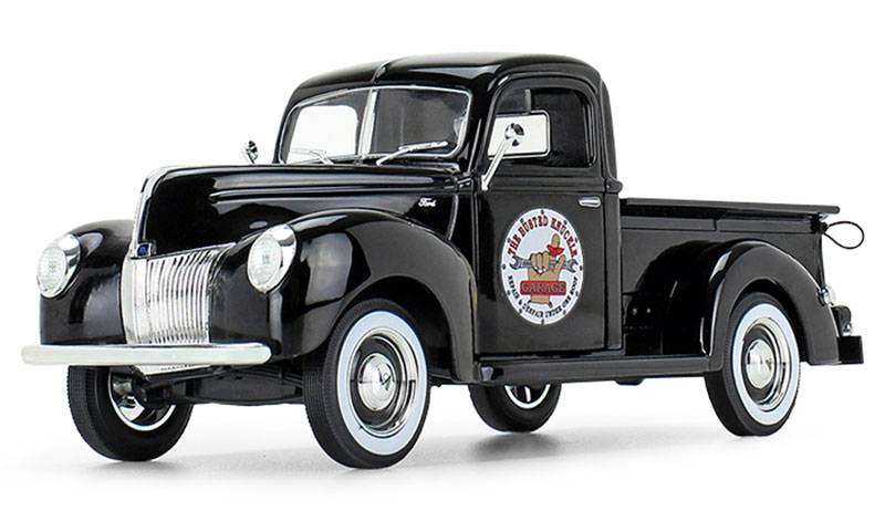 49-0393B2 - First Gear Replicas The Busted Knuckle Garage 1940 Ford Pickup