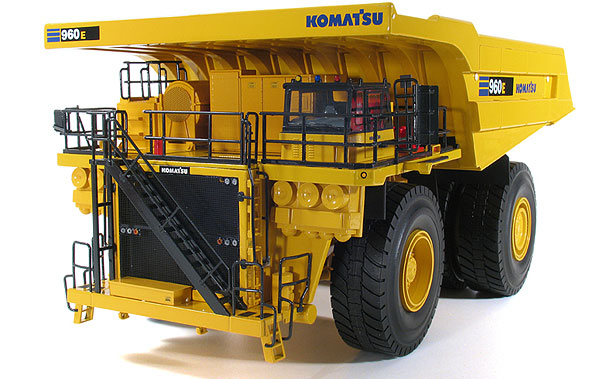 50-3244 - First Gear Replicas Komatsu 960E 2K Dump Truck MODIFIED TOOLING