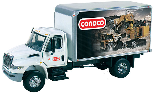 50-3276 - First Gear Replicas Conoco International Durastar Delivery Truck Opening Doors
