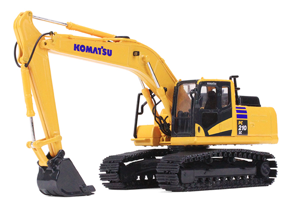 60-0326 - First Gear Replicas Komatsu PC210LC 11 Excavator diecast metal 360