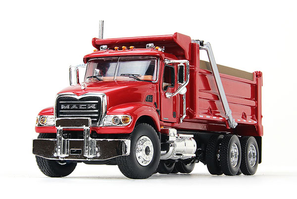 60-0390 - First Gear Replicas Mack Granite Dump Truck