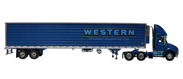 69-0243 - First Gear Replicas Western Distributing Transportation International 8600i Day Cab