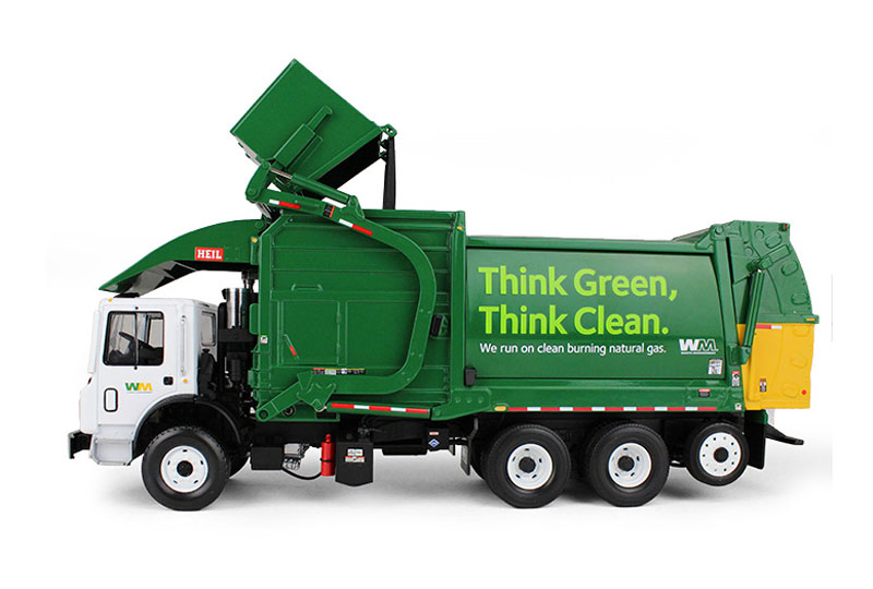 First Gear Allied Waste Front Load Trash Truck