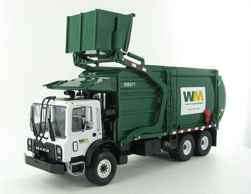 First Gear Replicas Waste Management Mack Terrapro Front