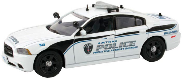 CHG-108 - First Response Amtrak Police Dodge Charger Police