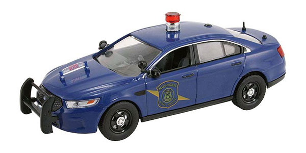 FDS-121 - First Response Michigan State Police 2014 Ford Police Interceptor