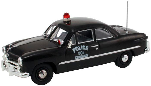 FRD-104 - First Response Chicago Police Dept 1949 Ford 2 Door