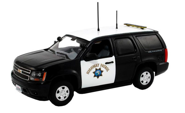 TAH-119 - First Response California Highway Patrol 2011 Chevrolet Tahoe Police