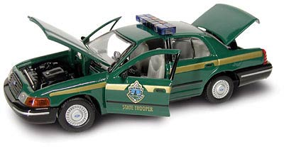 27153 - Gearbox Vermont State Troopers Precision Crown Victoria Car
