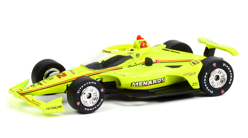 11505 - Greenlight Diecast 22 Simon Pagenaud 2021 NTT IndyCar Series