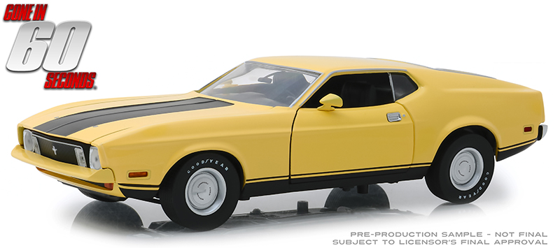 12910 - Greenlight Diecast Eleanor 1973 Ford Mustang Mach 1 Gone