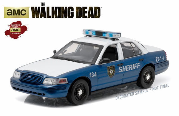 12957 - Greenlight Diecast Linden County GA 2001 Ford Crown Victoria