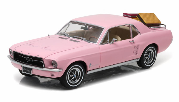 12966 - Greenlight Diecast 1967 Ford Mustang Coupe