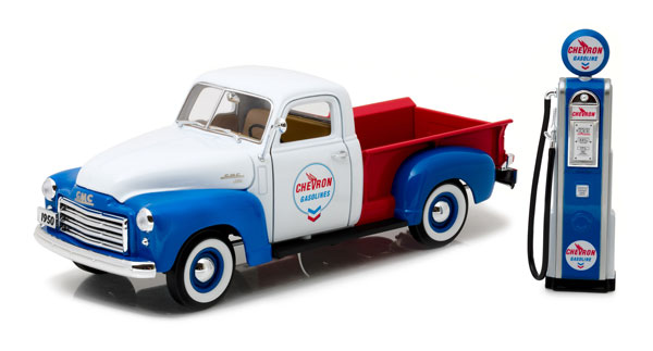 12992 - Greenlight Diecast Chevron 1950 GMC 150 Pickup