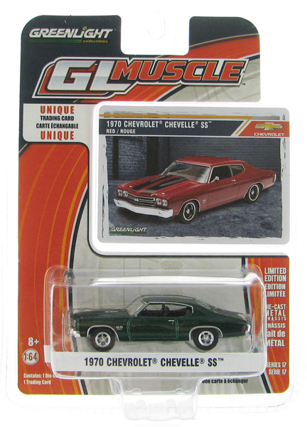 13170-D-SP - Greenlight Diecast 1970 Chevrolet Chevelle SS SPECIAL GREEN MACHINE