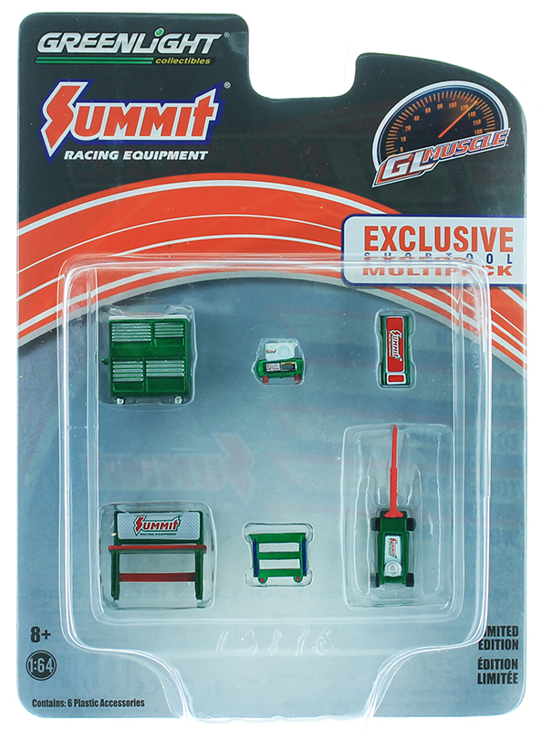 13176-SP - Greenlight Diecast Summit Racing Equipment GL Muscle Shop Tools