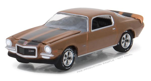 13190-D - Greenlight Diecast 1972 Chevrolet Camaro Z_28