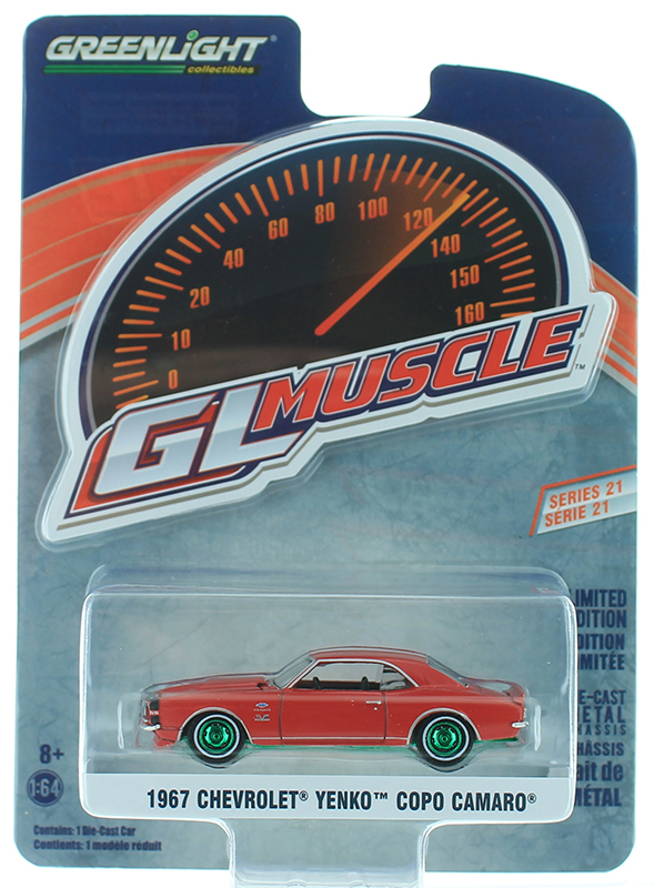 13230-A-SP - Greenlight Diecast 1967 Chevrolet Yenko Camaro