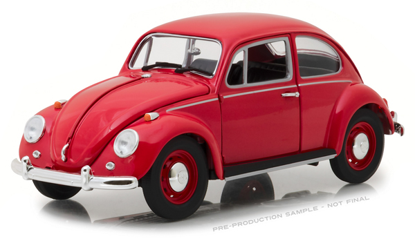 13511 - Greenlight Diecast 1967 Volkswagen Beetle Right Hand Drive