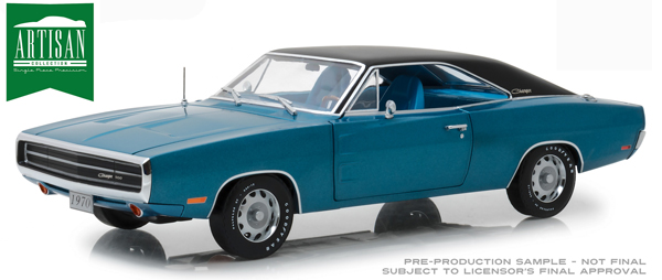13530 - Greenlight Diecast 1970 Dodge Charger 500 SE