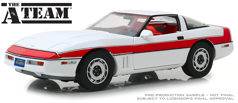 13532 - Greenlight Diecast 1985 Chevrolet Corvette C4