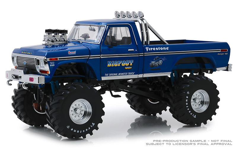 13537 - Greenlight Diecast Bigfoot 1 1974 Ford